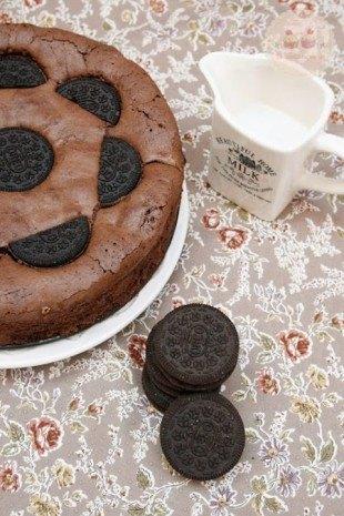Brownie de Oreo 002