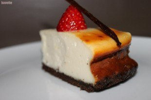 Cheesecake clásico New York