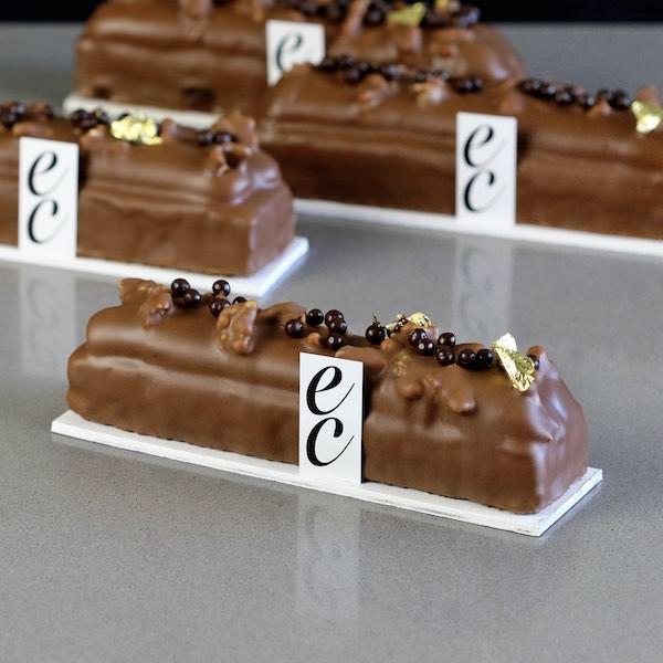Pasteles de Caramelo/ Chocolate y Frutos secos