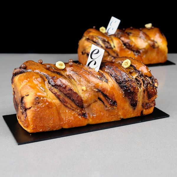 Babka de Chocolate y Avellana