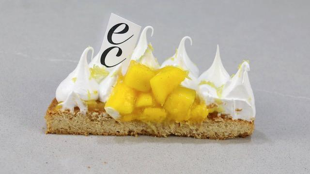 Bretona de Mango-Maracuyá y Merengue suizo