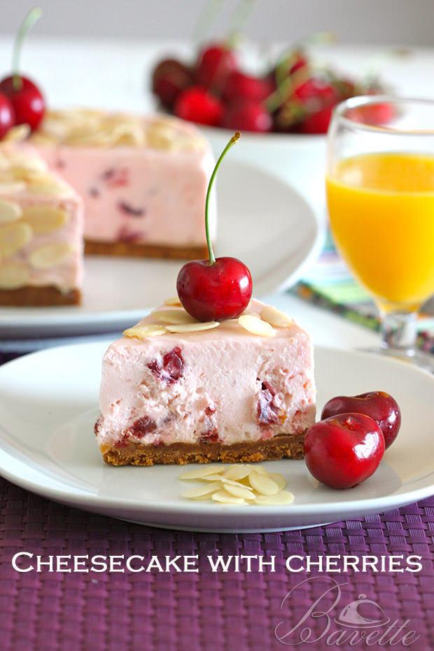 Cheesecake de cerezas