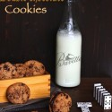 Cookies americanas con doble chocolate