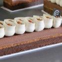 Brownie con Chocolate cremeux y Ganache de café
