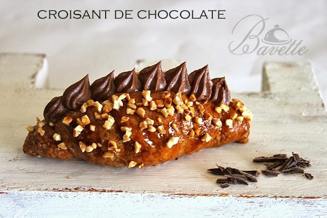 Croisant de chocolate