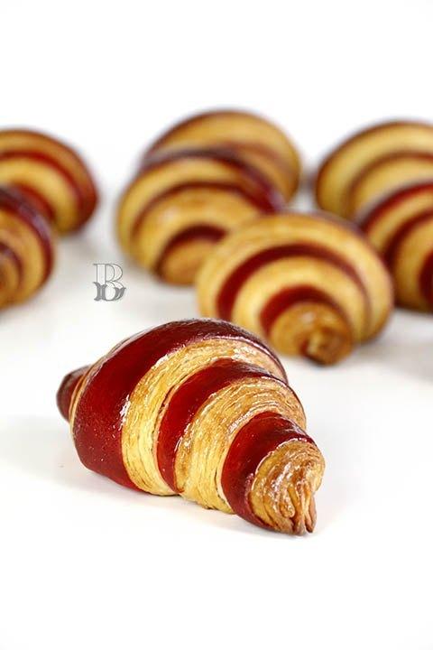Croissants Bicolores de mantequilla