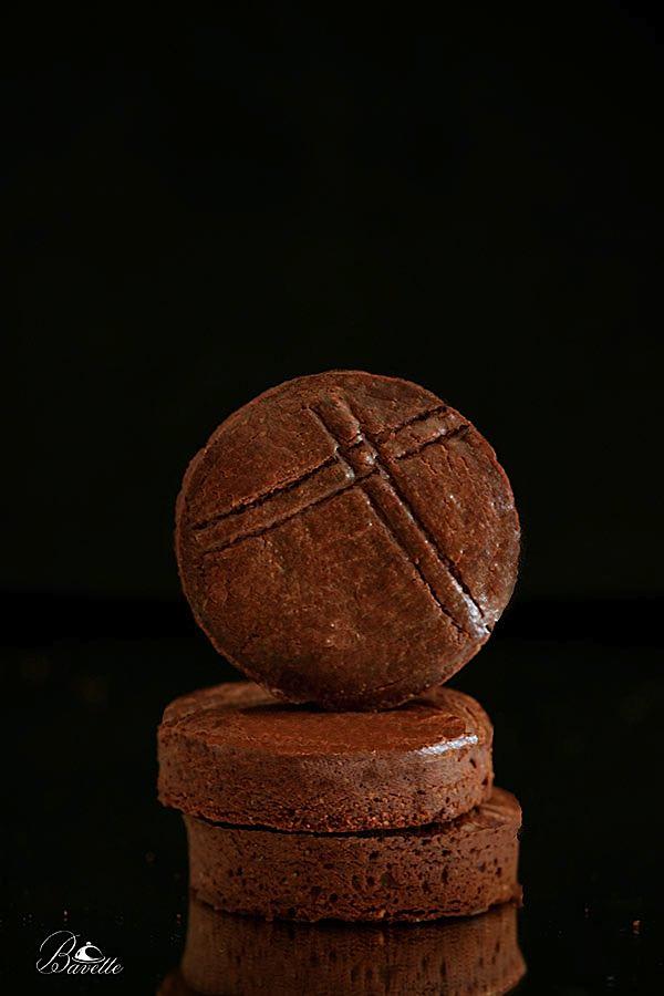 Galletas bretonas de chocolate