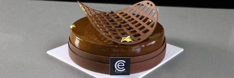 Semifrío de Avellana y Chocolate con Caramelo blando