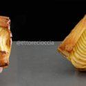 Tarta de Manzana, con Hojaldre casero, y Crema Pastelera de vainilla