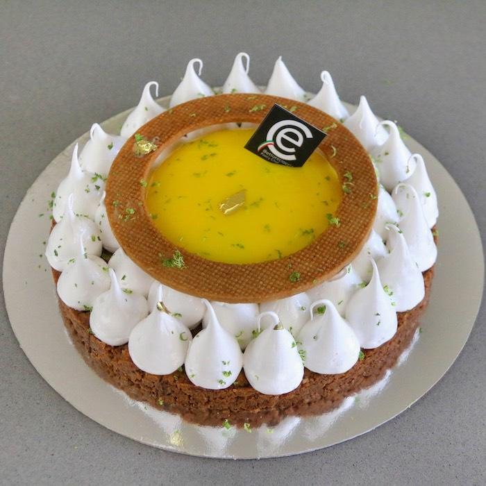 Lemon tart con Merengue suizo