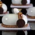 Mont-Blanc de Pera y Chocolate con Crema de Castañas