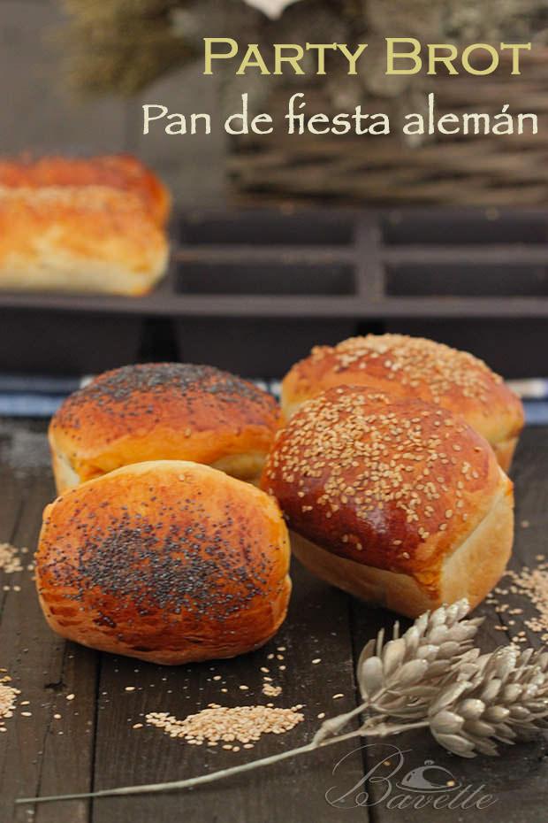 Party brod, pan de fiesta alemán