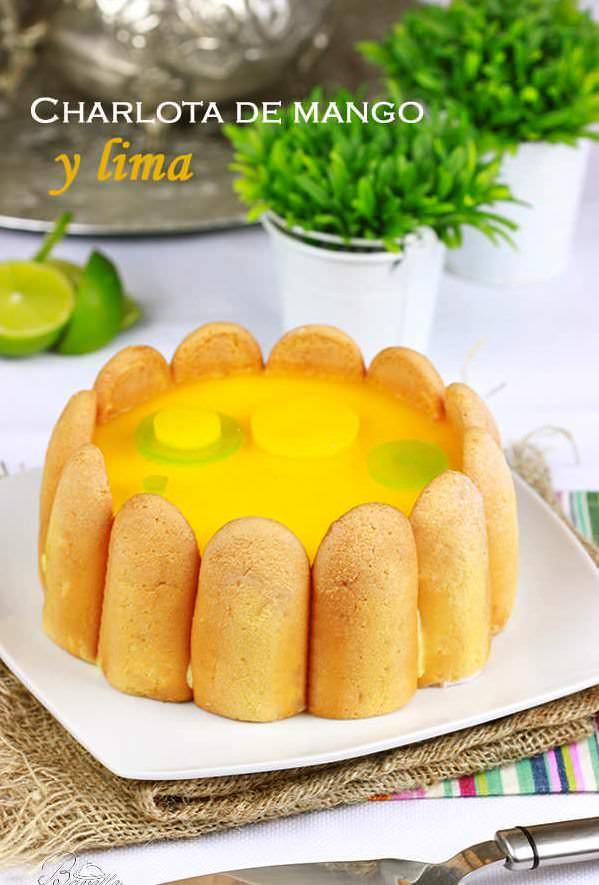 Charlota de mango