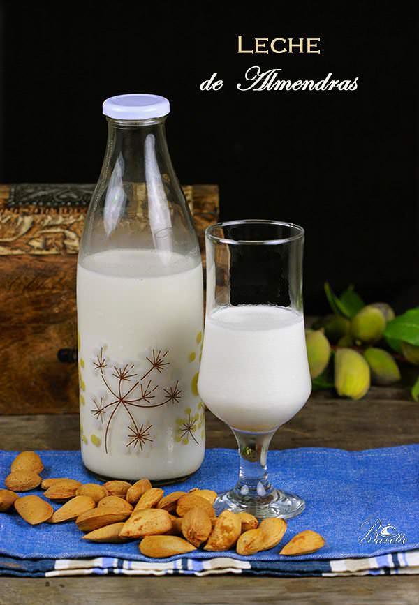 Receta lde leche de almendras casera
