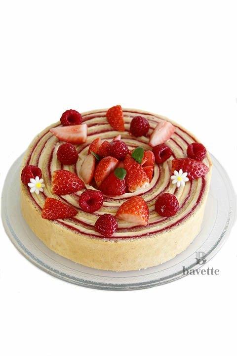 Receta tarta Fraisier
