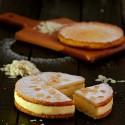 Sablé bretón con crema chiboust