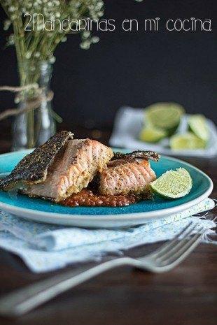 Salmon al estilo asiatico
