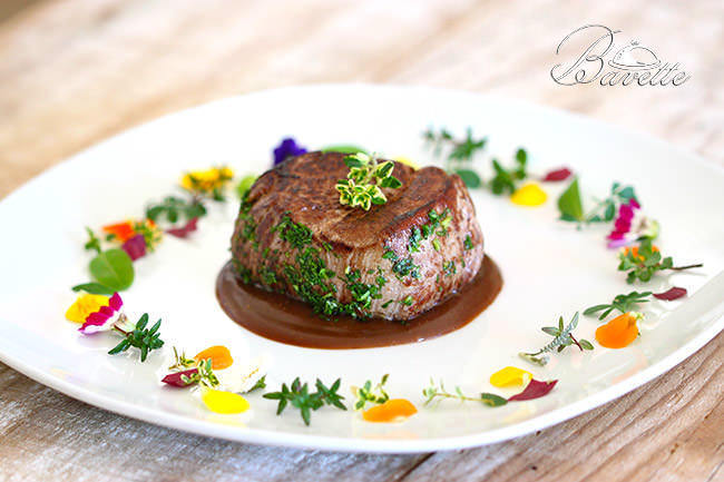 Solomillo de ternera con salsa madeira for Platos para una cena romantica