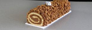ngredientes para un Pastel enrollado de Chocolate y Café