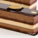 Vamos a preparar una Tarta cremosa de Praliné. con capas, con bizcocho Gioconda de Chocolate, un cremoso de praliné, Mousse de Chocolate, y glaseado.
