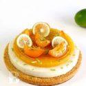 Tarta de albaricoque-coco y streusel