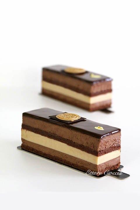 Tarta Cremosa de Praliné y Chocolate negro