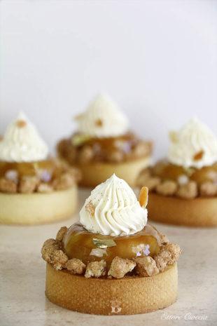 Tartas Tatin de Manzana con crema de almendras