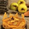 Tatin de manzana sin horno