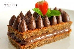 Tiramisú de chocolate negro